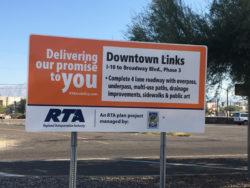 Downtown Links work begins