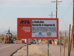 La Cholla Boulevard project reaches milestone